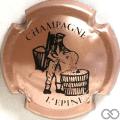 Champagne capsule H4411.d Rosé et noir