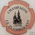 Champagne capsule 1.d Contour rosé