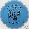 Champagne capsule H4413.a Bleu et noir