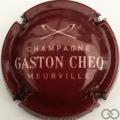 Champagne capsule  Bordeaux foncé et blanc