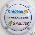 Champagne capsule 23 Jumelage Bredene 2018