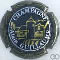 Champagne capsule 7 Vert et or, striée