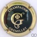 Champagne capsule  Noir et or