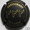 Champagne capsule 29.a Noir mat et or