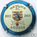 Champagne capsule 28 Bruges 2013, avec strass