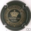 Champagne capsule 9 Marron métallisé et or