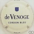 Champagne capsule 274 Crème pâle, brut, écusson épais