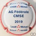 Champagne capsule 343.a Crédit Mutuel 2019