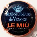 Champagne capsule 384.a Le Miu, contour orange