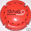 Champagne capsule 270.ab Tango Bourges, fond orange