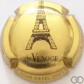 Champagne capsule A23.d Or et noir, 2021