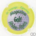 Champagne capsule 135 Golf magazine