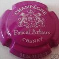 Champagne capsule 7.c Fuchsia et blanc