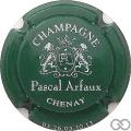 Champagne capsule 7.b Vert foncé et blanc