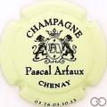 Champagne capsule 3 Vert pâle et noir