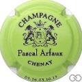 Champagne capsule 7 Vert pomme et noir