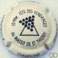Champagne capsule 7.a 10ᵉᵐᵉ fête des vendanges