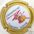 Champagne capsule 617 An 2000, n° 617, contour or