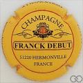 Champagne capsule 1 Fond jaune