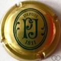 Champagne capsule 78.a Jéroboam, or et vert