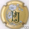 Champagne capsule 68 Jéroboam, métal au verso