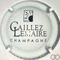 Champagne capsule 9 Blanc et noir