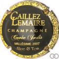 Champagne capsule 6.c Cuvée Jadis 2007