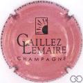 Champagne capsule  Vieux rose  et noir