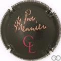 Champagne capsule 8 Pur Meunier, noir mat