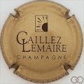 Champagne capsule 9.b Or et noir