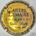 Champagne capsule 6.b Cuvée Jadis 2006