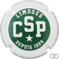 Champagne capsule 12 CSP Limoges