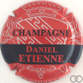 Champagne capsule 3.i Rouge barre noire