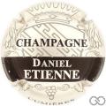 Champagne capsule 10.c Argent et noir