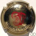 Champagne capsule 1 Or, noir et rouge