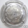 Champagne capsule 11 Estampée métal épais (étain)