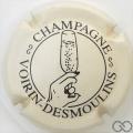 Champagne capsule 28.a Gris-crème et noir