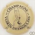 Champagne capsule 18 Crème et noir