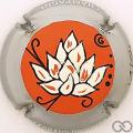 Champagne capsule 10.d PALM, Fleur de lotus