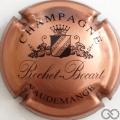 Champagne capsule 3.a Cuivré rosé et noir
