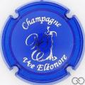 Champagne capsule 8.b Opalis, bleu foncé