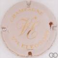Champagne capsule 4.b Blanc cassé et or