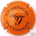 Champagne capsule 7 Orange et noir