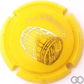 Champagne capsule 6.b Opalis jaune