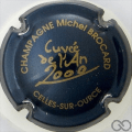 Champagne capsule 4 Bleu-nuit et or, an 2000