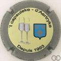 Champagne capsule 14.e Contour gris