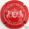 Champagne capsule 8.l Rouge et blanc