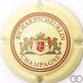 Champagne capsule 6 Crème, avec point d'interrogation