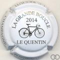 Champagne capsule 6 Blanc et noir, Le Quentin