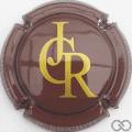 Champagne capsule 7.c Marron et or